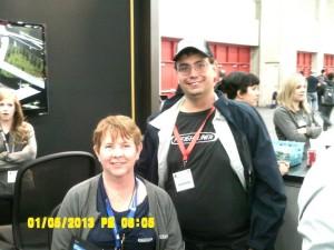 Linda Caffee and Tom Kyrk