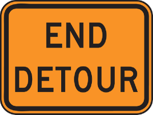 sign-end-way-road-information-travel-detour